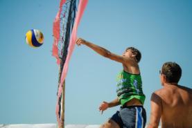 волейбольная площадка в Судаке